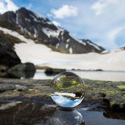 Berg reflectie