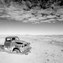 Verlaten auto