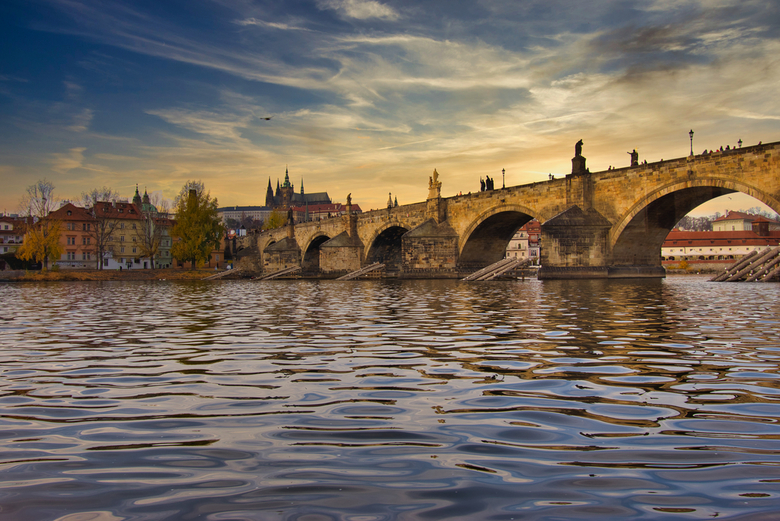 Praag Charles Bridge en St Vitus Cathedral - Prague Charles Bridge en St Vitus Cathedral
