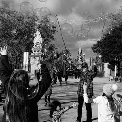 Barcelona - Kids playing