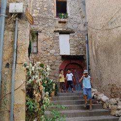 Spelende kinderen (Zuid Frankrijk)