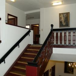 Het trappenhuis van het stadhuis van Cochem, foto 2.