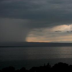 Regen op komst