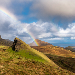 Rainbow above Quiraing