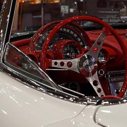 Kijkje in een Corvette