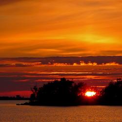 Makkum Golden Sunset