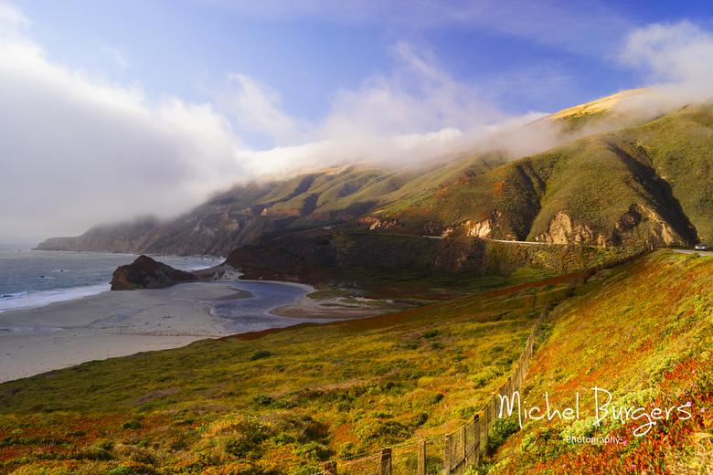 Big Sur highway - Big Sur highway. West coast USA