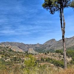 Zicht op Guadalest....