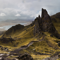 classical view on The Old men of Storr