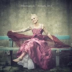 Het rode jurk...