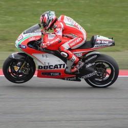 Nicky Hayden Kwalificatie tt 2012