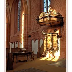 Interieur kerk van Zeerijp