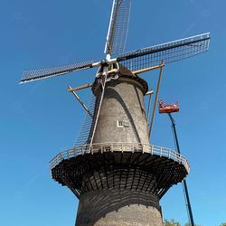 Molen De Noord in Schiedam
