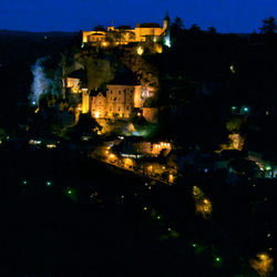 avond in Rocamadour