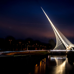 Calatravabrug Haarlemmermeer