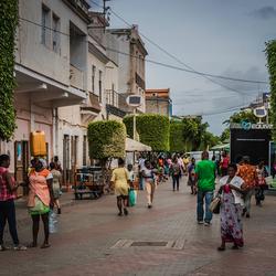 Praia, hoofdstraat