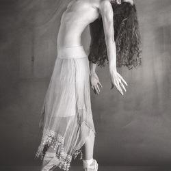 Ballerina in zw/w