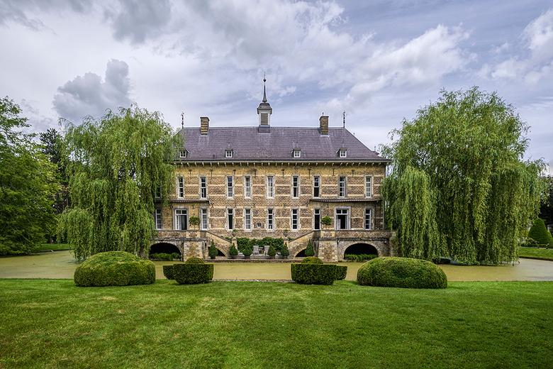 Kasteel Wijlre - Kasteel Wijlre:<br /> Het huidige kasteel is een herenhuis gelegen op een omgracht terrein. Het hoofdgebouw heeft twee verdiepingen,