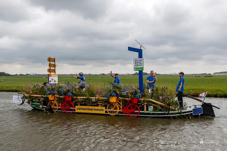 Varend Corso Westland 2019 - Boot 32 van de Provincie Zuid Holland met als thema #Ditdoetdeprovincie.<br /> <br /> In het kader daarvan een leuk wee