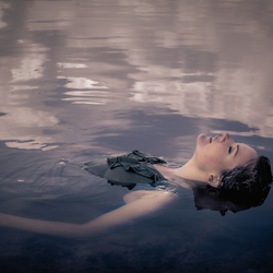 floating in a dream..