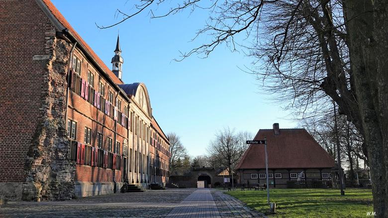 Klooster Frenswegen - Een bezoek gebracht aan klooster Frenswegen. Het  is gelegen aan de rand van Norhorn. Klooster is gesticht in 1394. Tegenwoordig