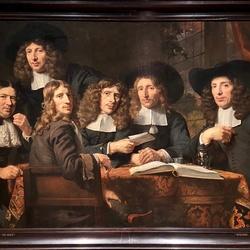 De overlieden van het Amsterdamse chirurgijnsgilde