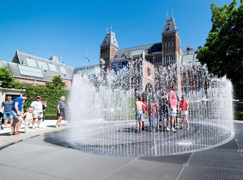 Rijksmuseum - een beetje verkoeling....