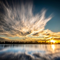 Sunset Wervershoof