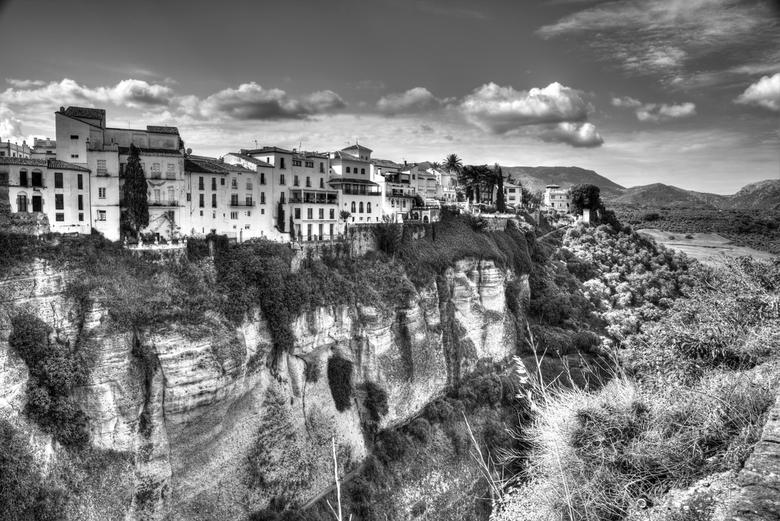 Spanje 42 - Een beetje spelen met de NIK filters geeft een lekkere zwart-wit plaat, in mijn  ogen dan....