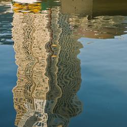 Rotterdam in het water...