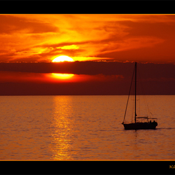 Sunset in Portoroz