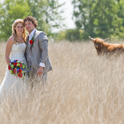 A real country marriage!