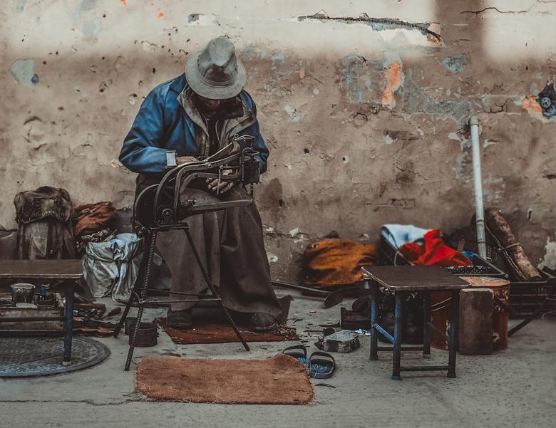 Tibetaanse Schoenmaker