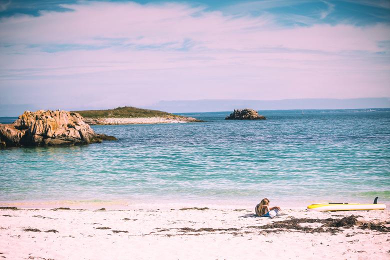 an other day at the beach - prachtig eilandengroep bij bretagne