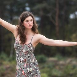 dancer in nature