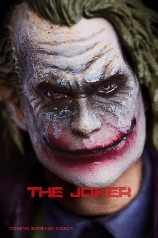 the Joker.. - Speelgoed portret van de Joker uit de Batman films.