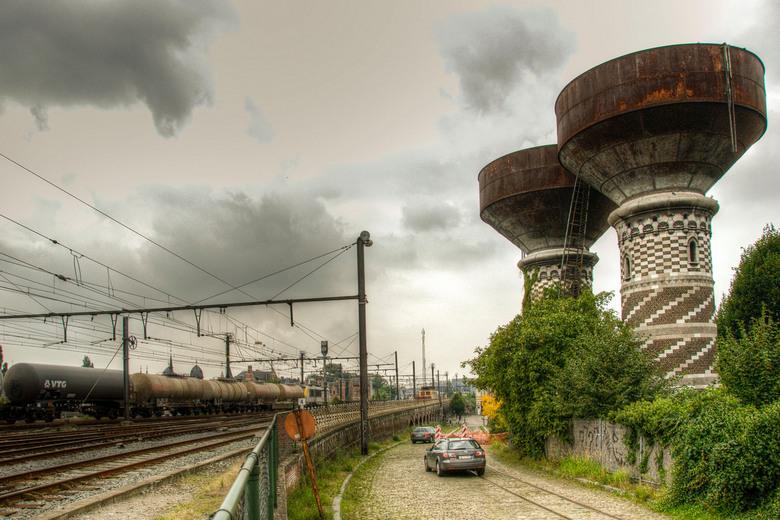 Antwerpen - Omheining Statie van Borgerhout - Antwerpen - Omheining Statie van Borgerhout