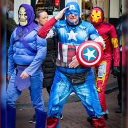 Captain America in Amsterdam