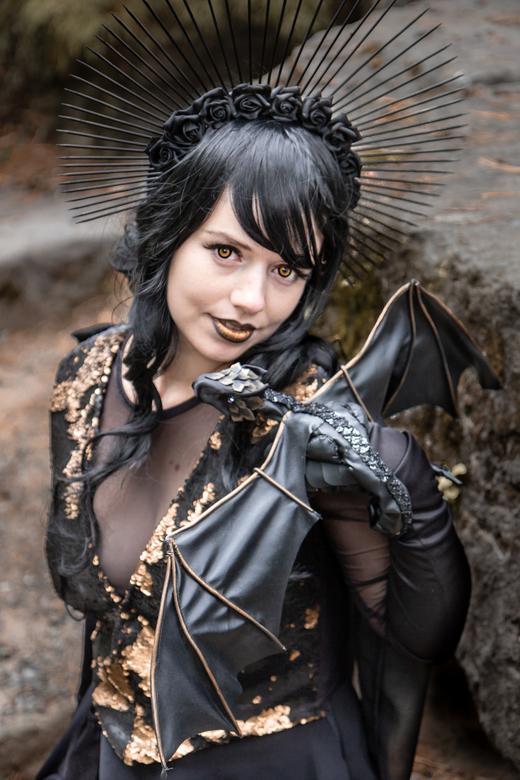 Dragon girl - Sarah's prachtige cosplay!
