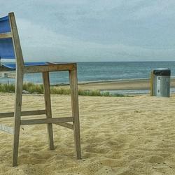 Strand-stoel