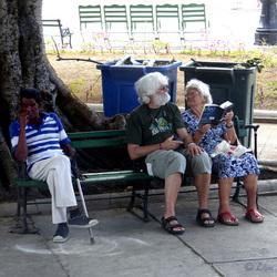 Toeristen in Havana