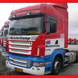 Trucks op een rij