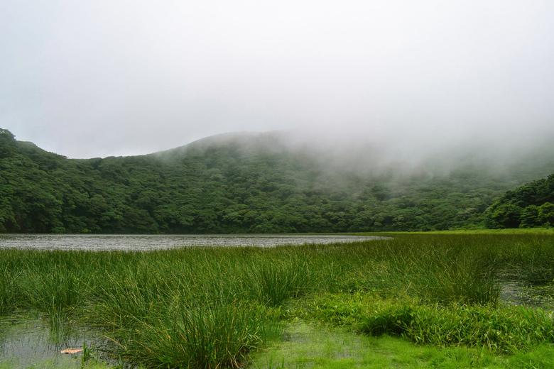 Maderas Volcano Ometepe Island - Toen ik de Maderas Vulkaan beklom was het ontzettend bewolkt, dus een groot deel van de wandeling was het uitzicht be