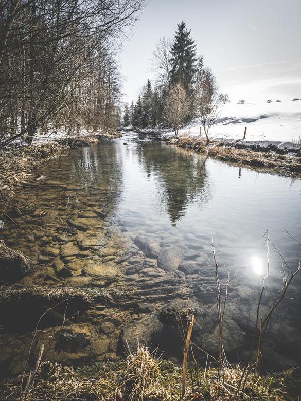 Warche. - Toch wel een van de mooiere rivieren in België, de Warche. Prachtig lopend door de hoge venen en mogelijkheden in overvloed om er te wandele