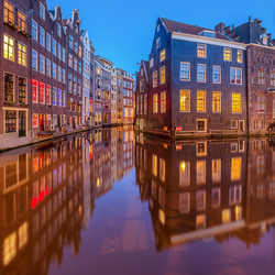 Floating Canal Houses