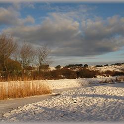 Katwijks winterlandschap