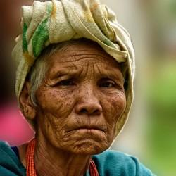 Hmong village.