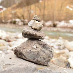 Bregenzerach - Stones