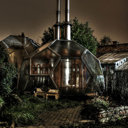Greenhouse @ night