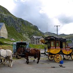 Gotthard postkoets.